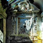 San Rocco Chapel Ruins - Cappella San Rocco Rovine Art Print