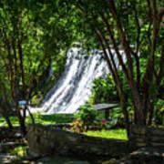 San Saba Waterfall Art Print