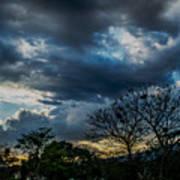 San Salvador Sunset 5 Art Print