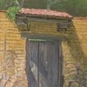 San Sebastian Garden Door Art Print