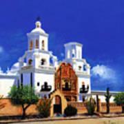 San Xavier Del Bac Mission Art Print