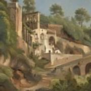 Sanctuary Dell'avvocatella In Cava De 'tirreni Art Print
