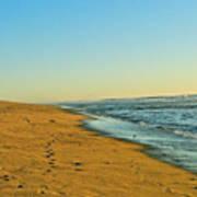 Sand And Sea Art Print