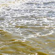 Sand Beach And Wave 4 Art Print