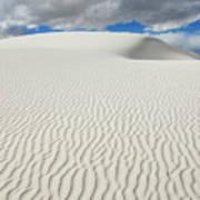 Sand Dune Magic 4 Art Print