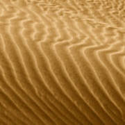 Sand Dune Mojave Desert California Art Print