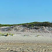 Sand Dune Panorama  Art Print