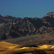 Sand Dunes - Death Valley's Gold Art Print