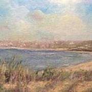 Sand Dunes, St. Ouens Bay Art Print