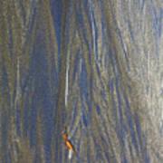 Sand Patterns At Moeraki Art Print