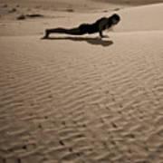 Sand Plank Art Print