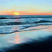 Sand Reflections Art Print