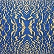 Sand Shadow Matrix Art Print