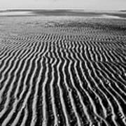 Sandbar Patterns Art Print