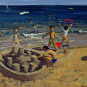 Sandcastle Art Print