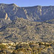 Sandia Mountain Panorama Art Print