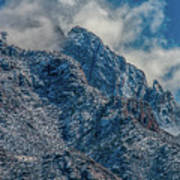 Sandia Mountains 2 Art Print