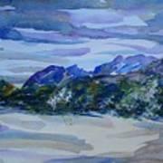 Sandia Mountains Art Print