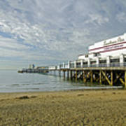 Sandown Pier Art Print