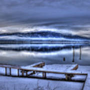 Sandpoint From 41 South Art Print