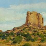 Sandstone Butte Navajo Country Art Print