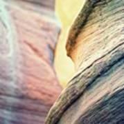 Sandstone Curve. Art Print