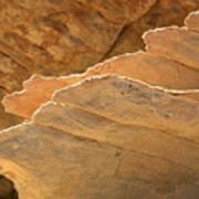 Sandstone Fins Art Print