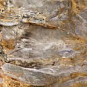 Sandstone Formation Number 2 At Starved Rock State Art Print