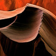 Sandstone Melody Art Print by Mike  Dawson