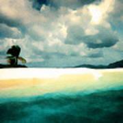 Sandy Cay Art Print