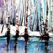 Sandy River  Art Print