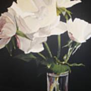 Sandys Roses Art Print