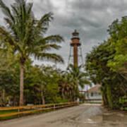 Sanibel Island Lighthouse Art Print