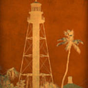 Sanibel Island Lighthouse Art Print