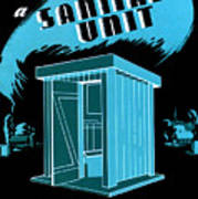 Sanitary Unit Fap Poster Art Print