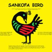 Sankofa Bird Of Knowledge Art Print