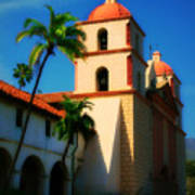 Sannta Barbara Mission Art Print