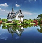 Sanphet Prasat Palace, Thailand Art Print