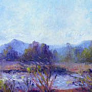 Santa Ana River Art Print