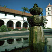 Santa Barbara Mission Art Print
