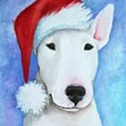 Santa Bully Art Print