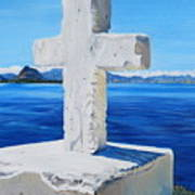 Santa Catarina's Cross Art Print