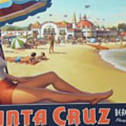 Santa Cruz For Youz Art Print