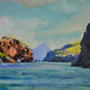 Santa Cruz Island Art Print