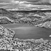 Santa Cruz Lake, New Mexico, April 18, 2016 Art Print