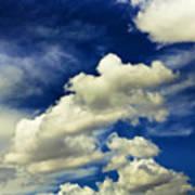 Santa Fe Clouds Art Print