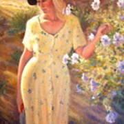 Santa Fe Garden 3   Art Print