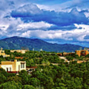 Santa Fe New Mexico Art Print