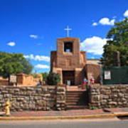 Santa Fe - San Miguel Chapel 6 Art Print