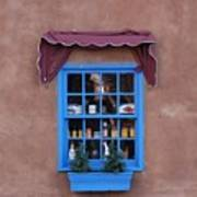 Santa Fe Window Art Print